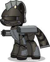 Mare Steel Ranger by Vector-Brony