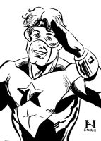 Booster Gold by IanJMiller