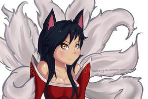 Ahri by pikabang