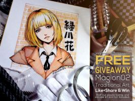 Prison School Traditional fan art giveaway by magion02