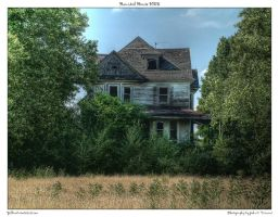 Haunted House HDR by yellowcaseartist