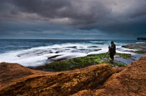 Seascape Photographer by HarryZero