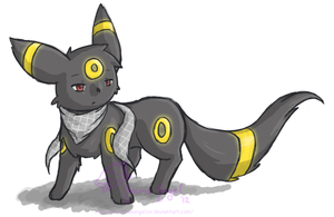 Zeke Umbreon by Espyfluff