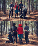 Hey Little Red Riding Hood. by The-Meeg