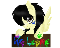 Welcome! (new ID) by TTthemutt