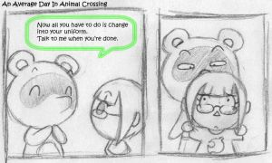Day In Animal Crossing 1 by SugarKills