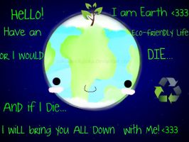 Message from earth :3 by Sakuranofujioka