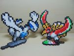 Tower Duo Perler Set - Lugia and Ho-Oh Perlers by Perler-Pop