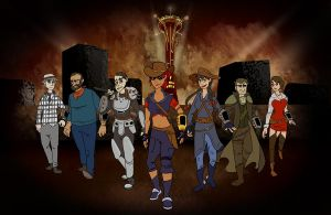The Seven Couriers by Pyreo