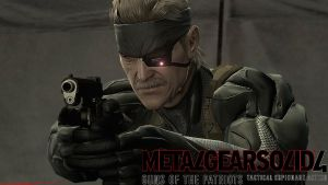 MGS4 - Old Snake by CrazyDave55811