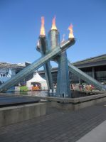 Olympic Cauldron by BlueSkyWarhawk