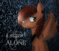 I stand alone by ZashaChan