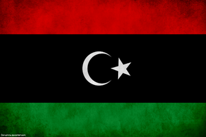 Free Libya Flag by Aminebjd