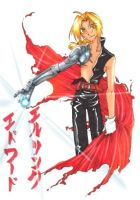 Edward Elric by Yiji