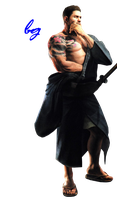 Chris Redfield-Render ~ RE6 Extra Outfit by Badgirl5
