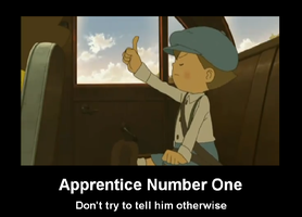 Apprentice Number One by Animal717