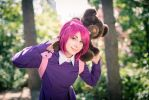 Annie and Tibbers by Sockilein