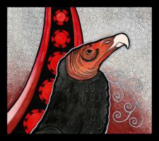 Turkey Vulture as Totem by Ravenari