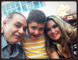 me, my baby and my dad by Nefertiti1