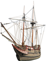 Colonial Ship PNG by Thy-Darkest-Hour
