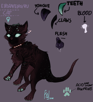 EIRIAN [REFERENCE SHEET 2016] by RICODAVEY