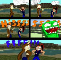 Comic contest entry- one too late by Vilenro