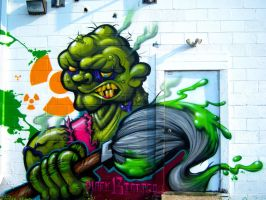 Toxie's Back by RietOne