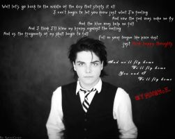 Gerard Way wallpaper by RavenxCorpse