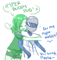 Sketch Request for Omega-Solider ouo by PastaIsALie