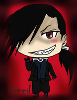 Chibi Greed Colored by albertxlailaxx