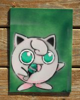Jigglypuff painting by SpawnoftheED