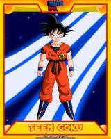 DB-Teen Goku V2 by el-maky-z