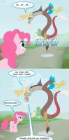 Discorderly prank by peachiekeenie