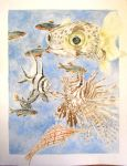 Watercolor Tropical Fish by JewishPeril