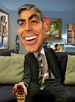 George Clooney by RodneyPike