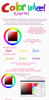 Advice or tutorial on the color wheel by Cookie-and-her-foxes
