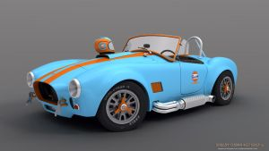 Cobra 427 Gulf team by RJamp