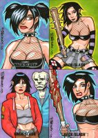 Hack Slash AE Sketch Cards by BillMcKay