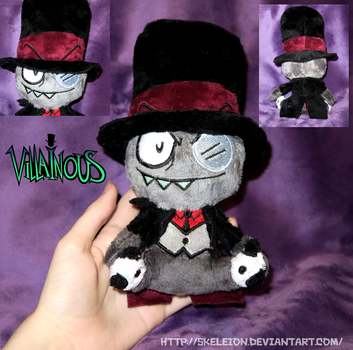 Tiny Black Hat by Skeleion