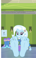 Trixie Go Toe To Toe by trohobo