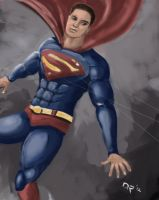 Superman by menacestudio