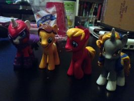 MLPFIM Bronyville Podcast OC Pony group customs by omgwtflols