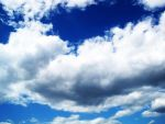 Bright Blue Sky And Clouds 1 by ArtmasterRich