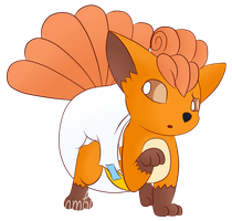 PokePadded - Vulpix (Request) by the--shambles