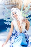 Frost Fairy 2 by Lillyxandra