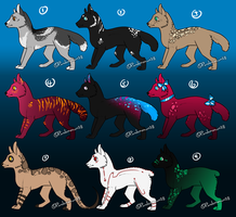 Dec'Adopts 2: Canines by Pandemonium28