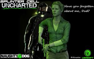 SplinterCell Uncharted by KeeperNovaIce