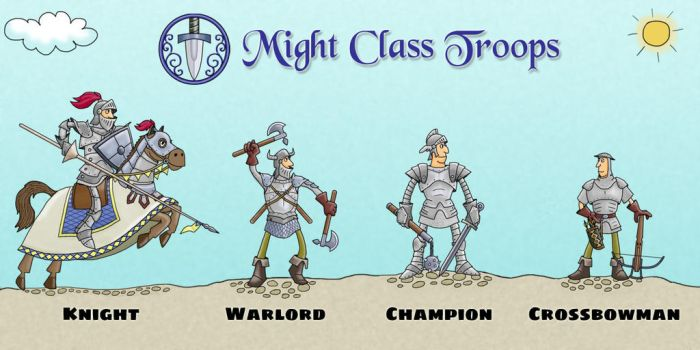 Might Class Troops by MKerogazov