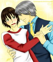 Junjou Romantica UsagixMisaki by huntersparda
