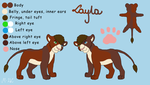 Layla reference by M-WingedLioness